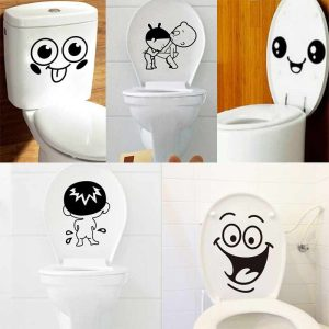 Bathroom Decoration Stickers Toilet