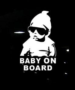 Baby on Board Car Stickers | Child Car Stickers | The Switch Stickers