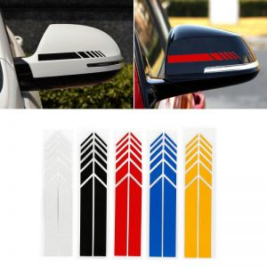 Car Rear View Mirror Stickers