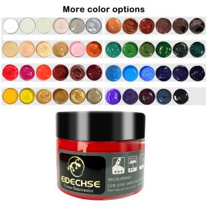 Leather Recoloring Balm Repair Kit