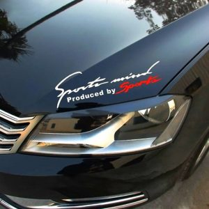 Car Graphic Decal Stickers Black Red