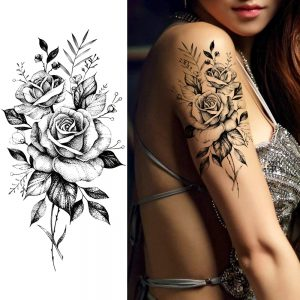 Body Chest Art Temporary Tattoo