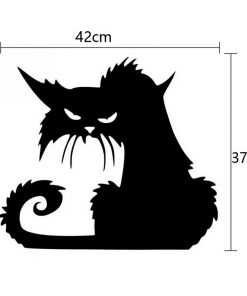 Terror Cat Window Stickers | Removable Sticker | The Switch Stickers